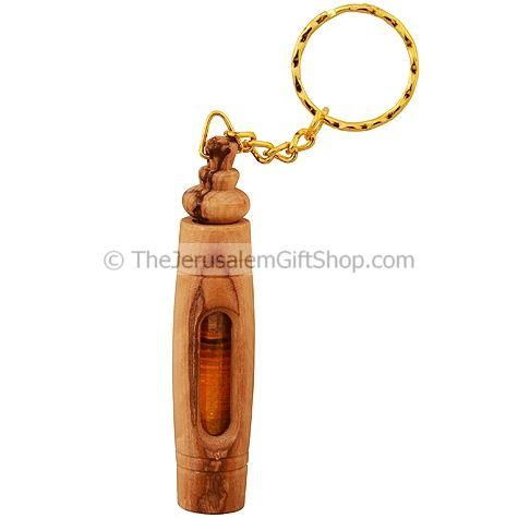 Olive Wood Keychain - Galilee Olive Oil