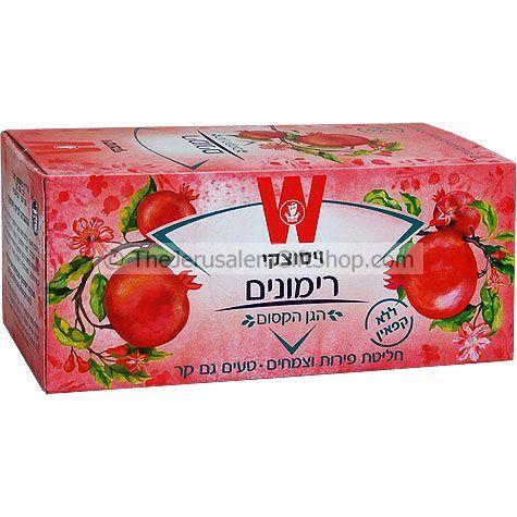 Wissotzky Pomegranate Tea