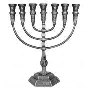 Jerusalem Menorah - Pewter