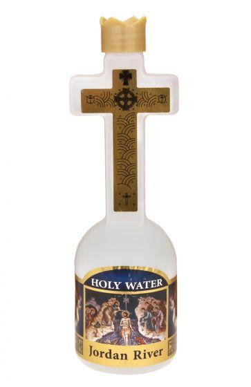 Holy Water in Cross Bottle