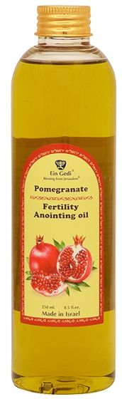 Pomegranate Anointing Oil - Fertility - 250ml - Made in Israel