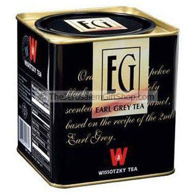 Wissotzky Earl Grey Tea - Loose Tea
