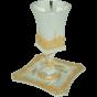 Silver & Gold Plated Jerusalem Kiddush Cup
