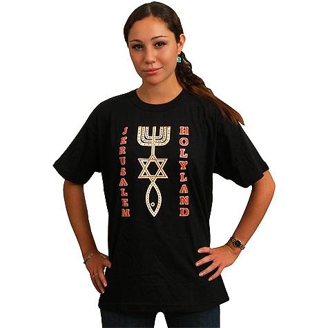 Jerusalem Holy Land Messianic T-Shirt