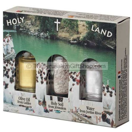 Holy Land Gift Pack - Jordan River Yardanit