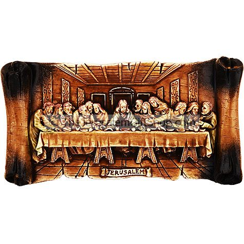 The Last Supper - Jesus with His Apostles Plaque