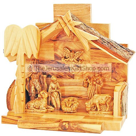 Nativity Scene - Olive Wood Bethlehem