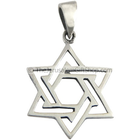 Star of David - pattern pendant